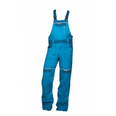 Cool Trend pantaloni pieptar albastru