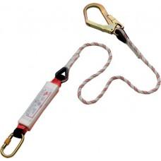 Absorbitor de energie cu frânghie reglabilă 1,8 M și 2 carabiniere