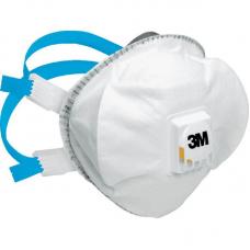 3M 8825 Semi-mască FFP2 R D - cu supapă